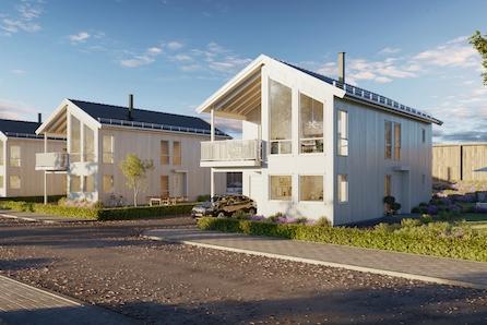 Stor og moderne enebolig over to plan, i etablert boligområde på Borgenhaugen. Barnevennlig og solrikt.