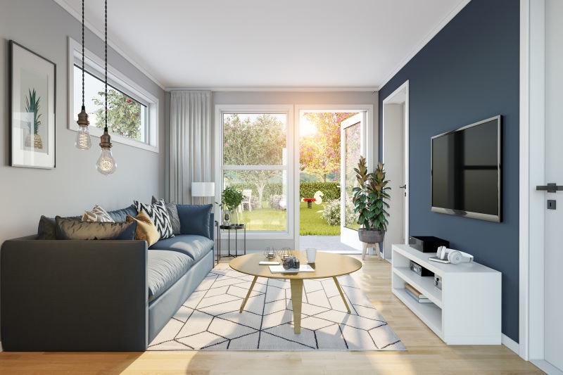 Sørumsvingen // Nye, moderne 1 og 2-roms leiligheter med carport. Gangavstand til Sørumsand sentrum og togstasjon.