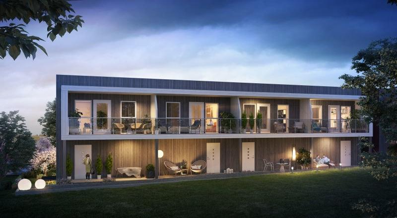 Sørumsvingen // Moderne rekkehus med 2 stuer, 3 soverom og garasje. Gangavstand til togstasjon og Sørumsand sentrum