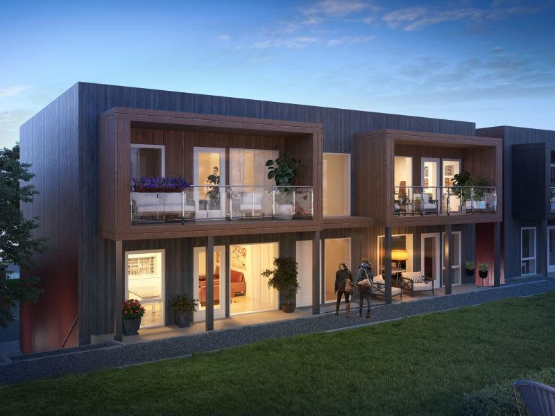 Sørumsvingen // Nye, moderne 3-roms leil. med terrasse/balkong og garasje. Gangavst. til Sørumsand sentrum og togstasjon