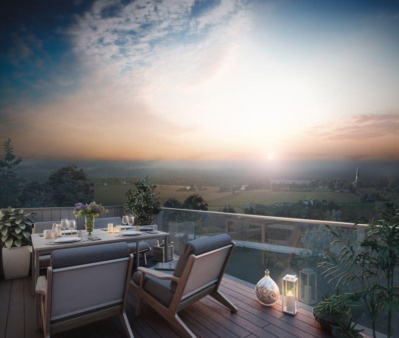 Løkenåsen- Kun 1 ledig! Panoramautsikt -Solrike, vestvendte balkonger -Naturskjønne omgivelser -Klar til overtagelse
