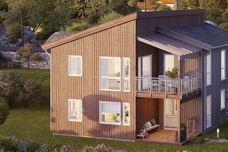Ulleråsen - Moderne enebolig med flott beliggenhet og fantastisk utsikt mot fjorden