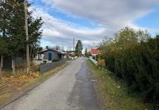 Sandshagan er en blindvei med lite trafikkk og er også skolevei for mange barn.