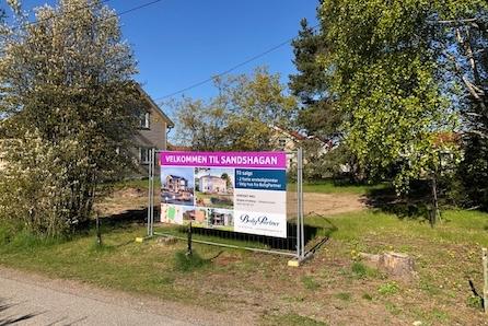 Jessheim/Sand: Boligtomt for salg i etablert område|nært skole, barnehage og butikk|Velg hustype fra BoligPartner