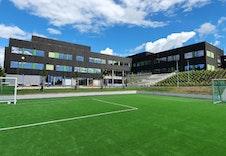 Gangavstand til nye Algarheim skole.