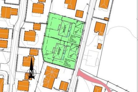 Ullensaker/Jessheim: Flott tomt på ca 836 m2 i etablert boområde på Sand|nært skole, barnehage, butikk og turområde