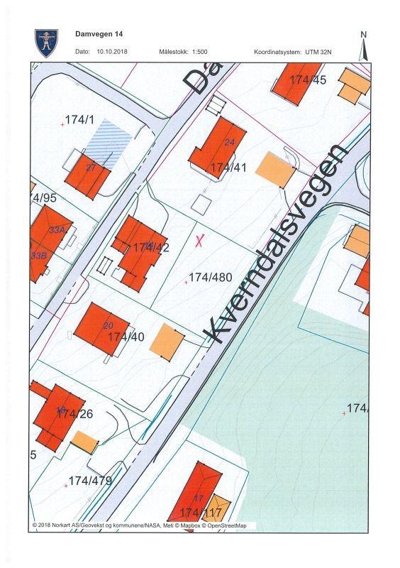 Jessheim // Fin eneboligtomt beliggende nært sentrum, rekreasjonsområder og skole/barnehager og fritidstilbud