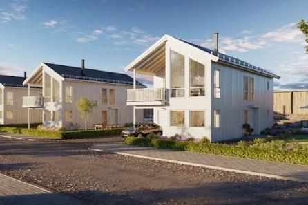 Borgen/Kløfta: Nyetablert boligfelt // Kampanjetilbud på vannbåren varme // Moderne enebolig m integrert garasje