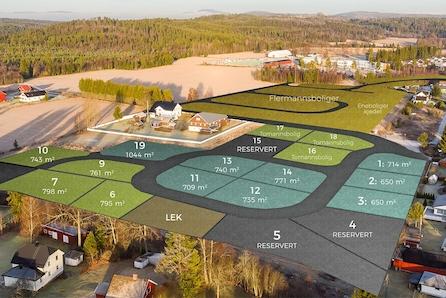 NORDKISA // Populært byggefelt med nærhet til skole, butikk og barnehage // Siste tomt // Velg hus selv //