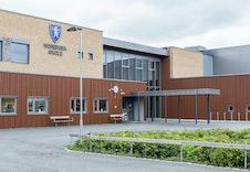 Nordkisa skole ligger rett ved boligfeltet, kort og trygg skolevei.