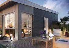 Stor solrik takterrasse på 42 kvm. med gode møbleringsmuligheter.