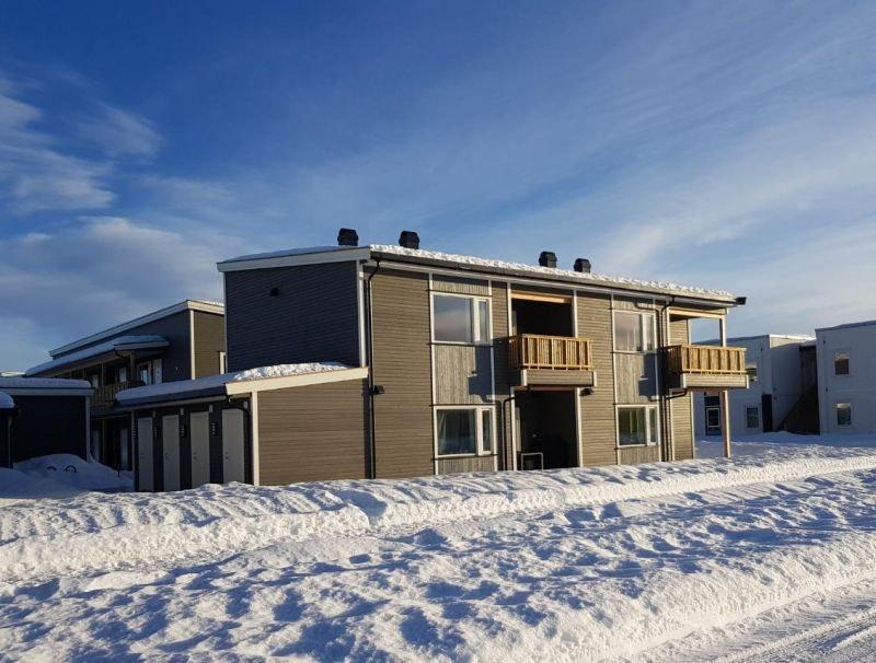 Kisamoen - Nordkisa //  Innflytningsklar, ny 2-roms leil. i 2. etg med vestvendt balkong. carport.