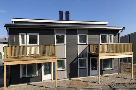 Neskollen // Moderne tomannsboliger, rett ved ny barnehage. Innflytningsklare sommeren 2019.