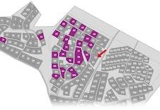 Oversiktskart over tomter