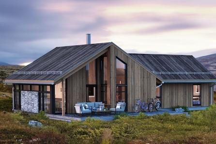 VISNING TIRSDAG 25.02 KL 16.00 - Magna Ferentis - moderne , innholdsrik familiehytte i et fantastisk langrenns område!