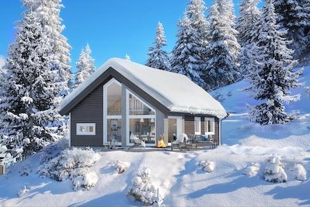 VISNING 08.03 KL 14.00-15.00 - Sportshytte for hele familien med 84 m2 gulvareal med selveietomt på Gåsbu hyttegrend.