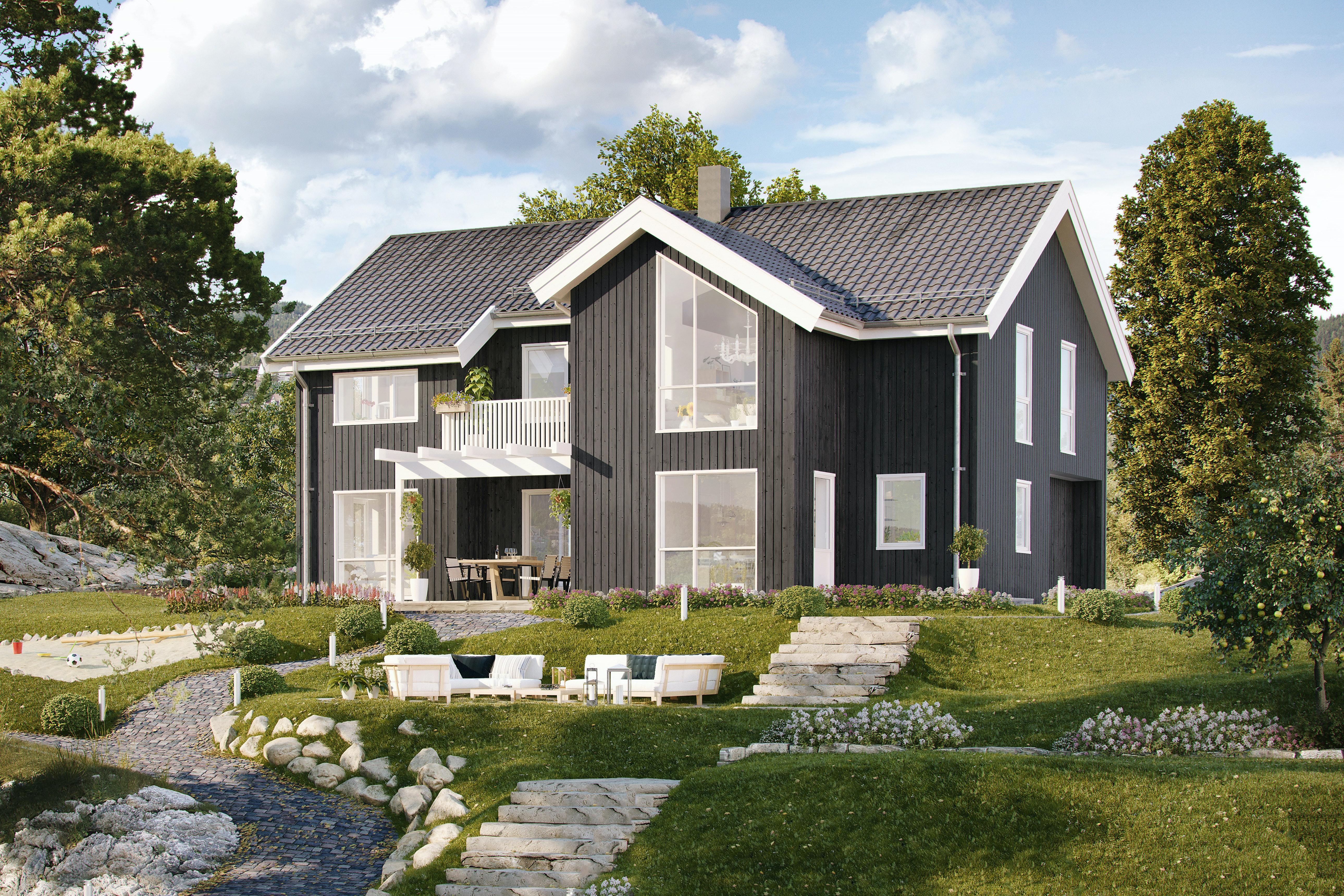 Ingeberg - NY populær og moderne enebolig på nytt boligfelt på Ingeberg - Vinci - et drømmehjem!