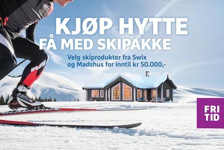VISNING TIRSDAG 25.02 KL 16.00 - 17.00 - Snøsikre Gåsbu hyttegrend - Oppfyll hyttedrømmen i langrennseldorado!