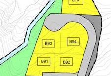 Tomt B81, B82 og B83 er nå til salgs fra Boligpartner AS