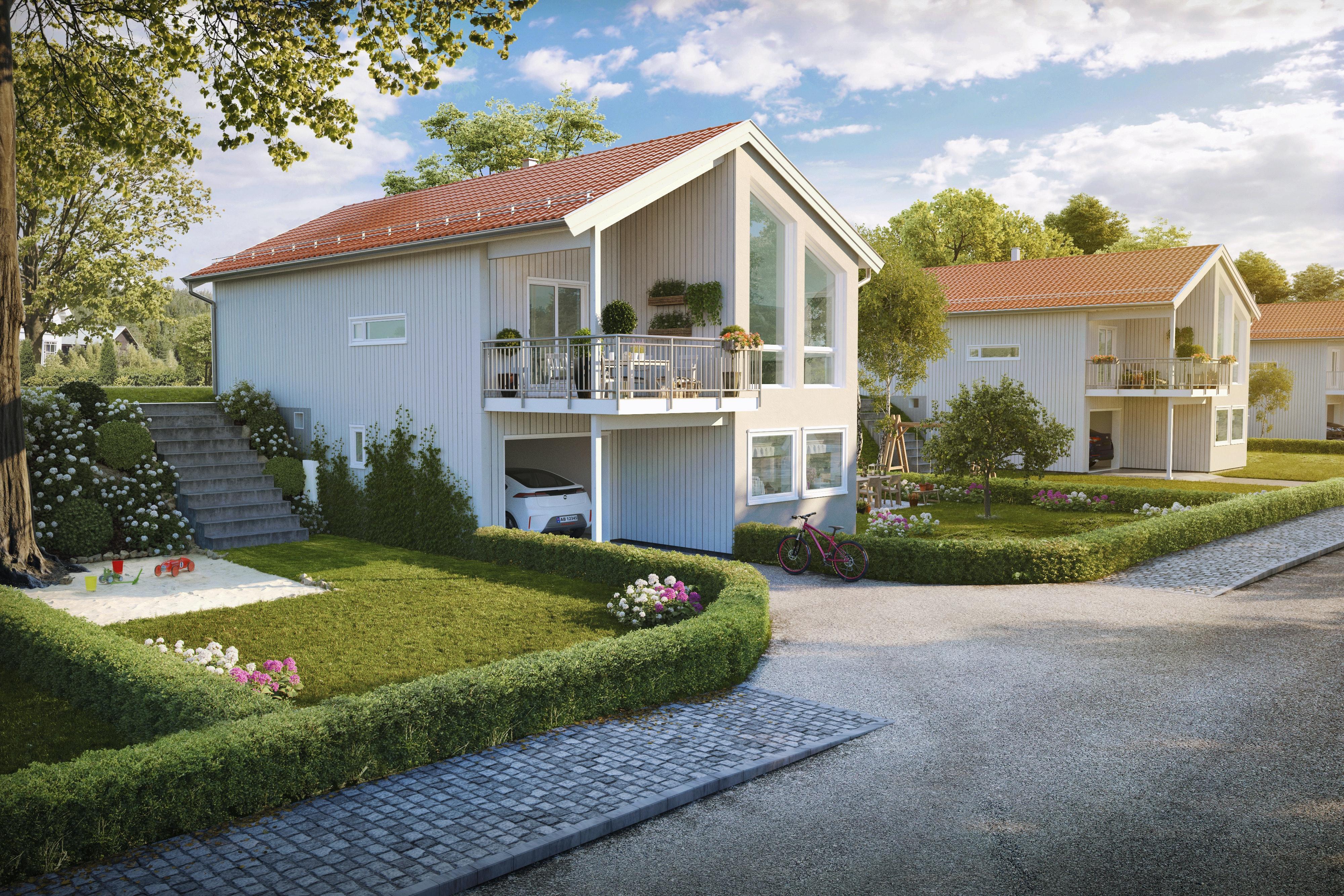 KOMMER FOR SALG I BRUMUNDDAL - Nye moderne eneboliger med egen hage