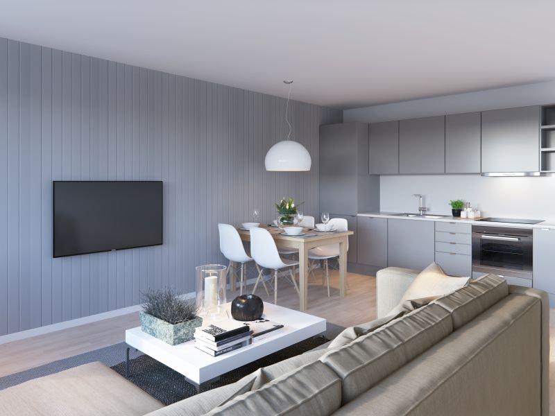 RESERVERT. KAMPANJEDAGER* Siste mulighet. Bo rimelig i ny leilighet, kun 6.600 mnd med husbanklån.
