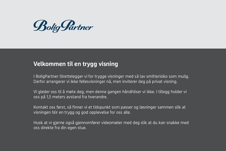 Skarnes - Bergvegen - Sentralt- Ny halvpart 2-mannsbolig med 4 soverom og 2 bad.