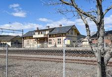 Skarnes stasjon.
