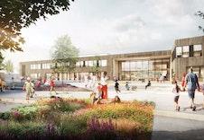 Illustrasjonsbilde av den nye Glommasvingen skole