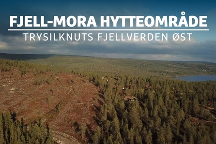 """FJELLMORA HYTTEOMRÅDE - FANTASTISKE UTSIKTSTOMTER I NYDELIG TURTERRENG """"LANSERINGSRABATT"""" KR 200 000,-"""