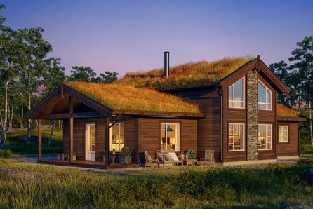 Fantastiske Blåfjellia -  Prosjektert nøkkelferdig hytte på 126 m² med Rondane rett utenfor døra. Sjelden sjanse!