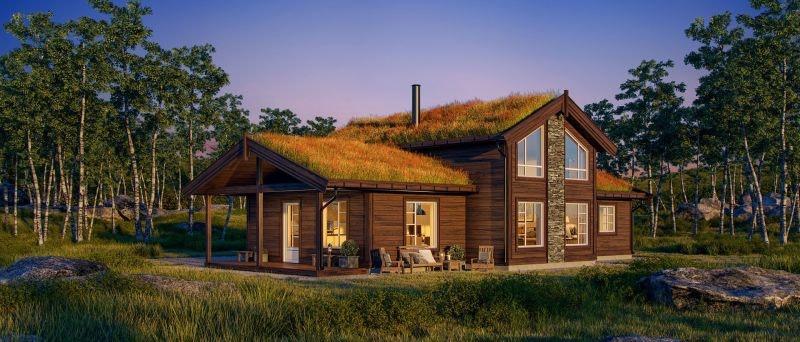 Fantastisk hytte i Jakobsåsen - Et friluftseldorado ved Bergstaden Røros.