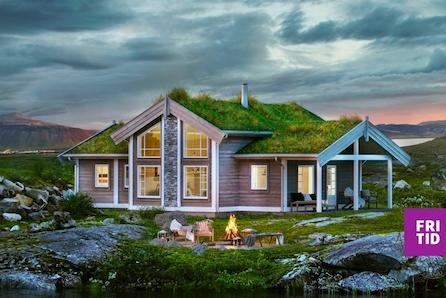 Familiehytte med 3-4 sov. Fint beliggende på stor, solrik tomt på Nordseter. Langrennski in/out. Nøkkelferdig!
