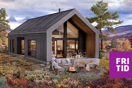 Nordseter Fjellgrend.  Nytt hyttekonsept med malmfuru på kledning og tak. Tomt, grav og betong inkl.
