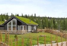 Fra en av Boligpartner-hyttene oppført i fjellgrenda (Gråhø)
