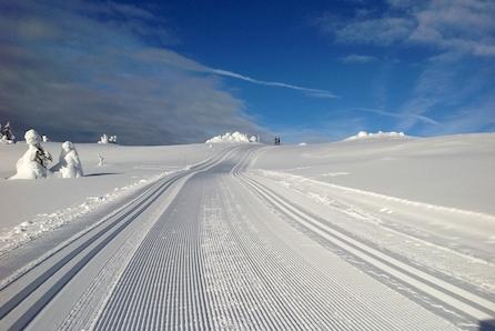 KUN 2 TOMTER IGJEN!  Store solrike selveiertomter! Ski in/out