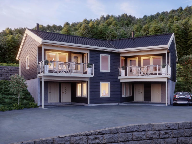 BoligPartner Lillehammer har gleden av å presentere UTSYNSBAKKEN; et helt nytt, unikt boligprosjekt med panoramautsikt!
