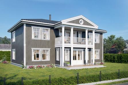 Sentralt på Lillehammer - SJELDEN MULIGHET! Herskapelig bolig med garasje. 5 sov og 2 bad.