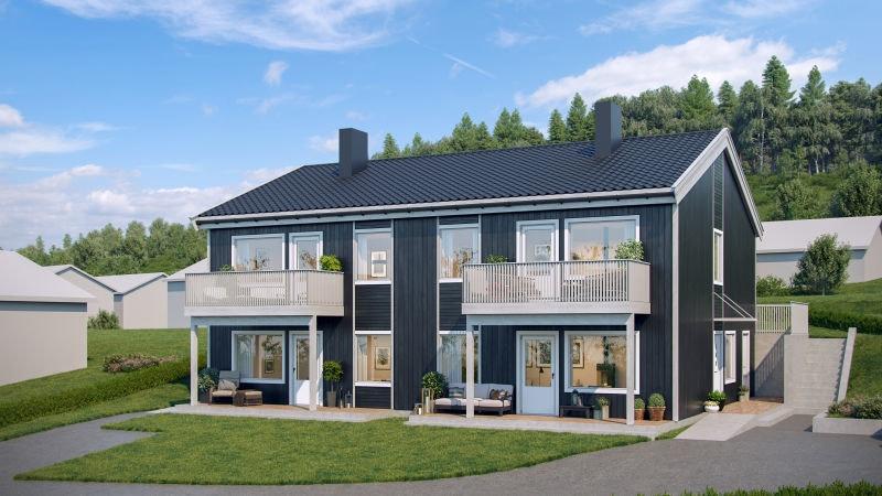 GJØVIK - Nye tiltalende prosjekterte leiligheter | Barnevennlig sentral beliggenhet | 1-2 sov |Ta kontakt for prospekt!