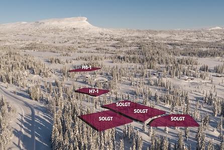 SKEIKAMPEN ! Store selveiertomter på 2492m2 og 1527m2 i rolig, etablert område ved Skeikampen!