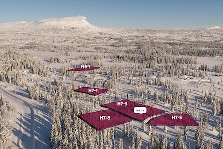 SKEIKAMPEN ! Store selveiertomter fra 1020 - 2480m2 med flott utsikt mot Skeikampen! 5 tomter ledige !