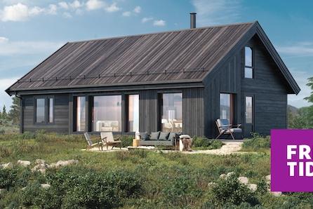 SKEIKAMPEN - Prisgunstig hytte på solrik tomt i Blekastad hyttefelt- tomt, grav og betong inkl.