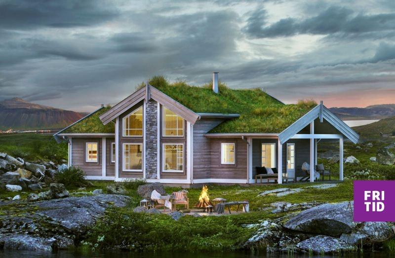 Nøkkelferdig familiehytte i Skei Fjellgrend! Stor, solrik tomt. Langrennski in/out. Tomt, grav og betong inkl.i pris