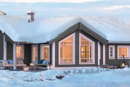 KAMPANJE* SKEIKAMPEN - Prisgunstig hytte på solrik tomt i Slåseterlia Fjellgrend- tomt, grav og betong inkl.
