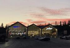 Skeiporten - ny mat-sport- og interiørbutikk i kort gangavstand fra Slåseterlia.  Foto: TS