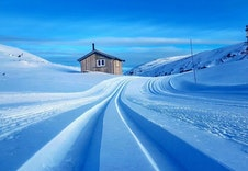 Nydelige skispor