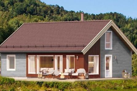 SKEIKAMPEN -  Prosjektert hytte med stor hems, god sengeplass og mulighet for badstue !