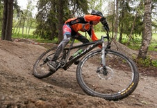 Muligheter for downhill-sykling på Skei