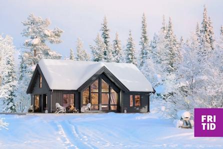 KAMPANJE* SKEIKAMPEN - Innbydende hytte med inntil 12 sengeplasser og 2 bad. Nær ny skistadion og alpinbakken.