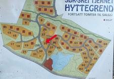 Tomtekart Sørskei-tjernet hytteområde