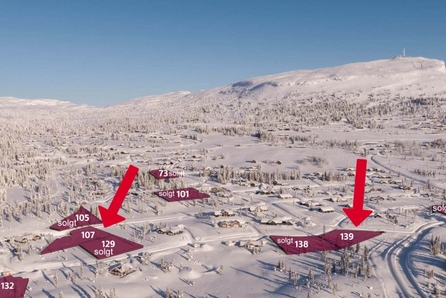 KUN 2 LEDIG! Skei fjellgrend- store solrike eiendomstomter  Flott beliggenhet nær fantastiske skiløyper og alpinanlegg!